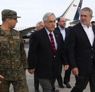 Sebastián Piñera asegura que sí hay terrorismo en La Araucanía