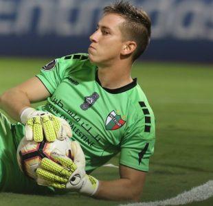 [VIDEO] Este tapadón de Ignacio González en empate de Palestino fue destacado en la Libertadores