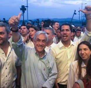 [VIDEO] Piñera rechaza irrespetuosas palabras de Miguel Bosé contra Michelle Bachelet