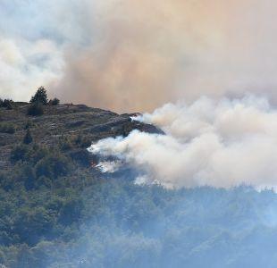 Onemi reporta 44 incendios forestales en ocho regiones del país