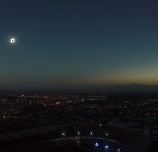 [VIDEO] Eclipse total de sol: registro desde cielo de La Serena