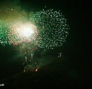 [VIDEOS] Las impresionante imágenes del incendio de una fábrica de fuegos artificiales en México