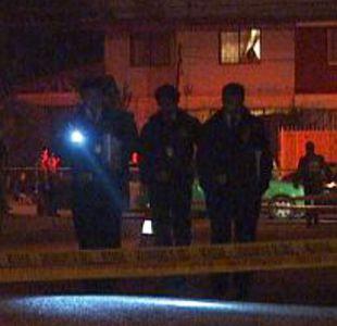 Muere mujer de 19 años tras recibir un disparo en la vía pública en Quinta Normal