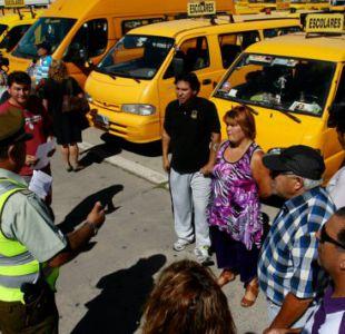 Más de 23 mil furgones escolares fueron fiscalizados antes del inicio de clases