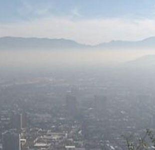 Decretan preemergencia ambiental para este domingo en la Región Metropolitana