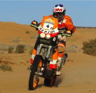 [VIDEO] D13Motos recuerda la experiencia de Carlo De Gavardo en el Rally Dakar