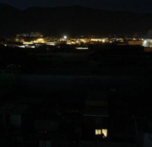 Masivo corte de luz afecta a tres comunas de Santiago