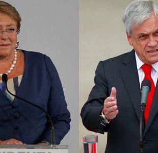 Sebastián Piñera por la Presidenta Bachelet: está gobernando para la élite de las Naciones Unidas