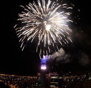 Fuegos artificiales en Torre Entel se adelantaron por ansiedad de funcionario