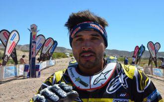Pablo Quintanilla se sube al podio: Finaliza tercero en la categoría de motos del Dakar 2016