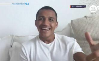 [VIDEO] El saludo Alexis Sánchez en el homenaje a La Roja por la Copa Centenario