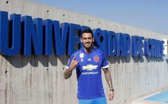 Mauricio Pinilla en la U: Quiero ser campeón, pelear la Libertadores y volver a La Roja