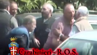 [VIDEO] Policía revela por primera vez ritos de iniciación de la mafia italiana