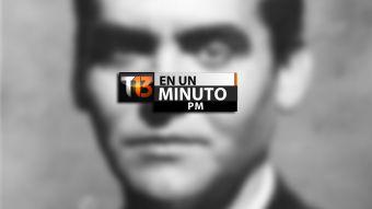 [VIDEO] #T13enunminuto: inician exhumación en posible fosa con García Lorca y más noticias