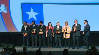 [T13Noche] COCh celebró a los medallistas olímpicos que ha tenido el país