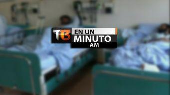 [VIDEO] #T13enunminuto: Más de 50 muertos en ataque suicida en Afganistán y otras noticias