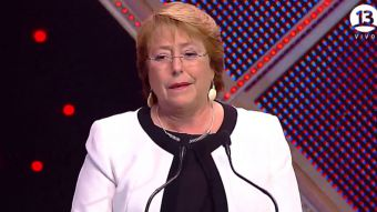[VIDEO] Así fue el discurso de la Presidenta Bachelet en el sorteo de la Copa América