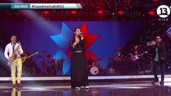 [VIDEO] Esta fue la actuación de Ana Tijoux en el sorteo de la Copa América 2015