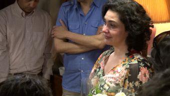 """[VIDEO] Este fue el conmovedor discurso de Tamara Acosta en el último día de rodaje de """"Los 80"""""""