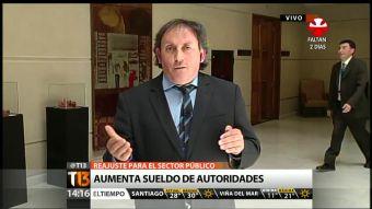 """[T13 TARDE] Iván Fuentes por reajuste salarial: """"No es justo aumentarles a esos que ya están altos"""""""