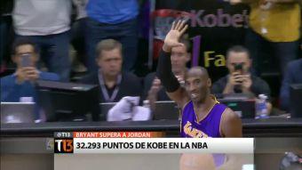[T13] La lucha de Kobe Bryant para ser el tercer anotador histórico de la NBA