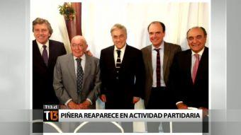 [T13] ¿Se acerca Piñera a RN para una candidatura presidencial?