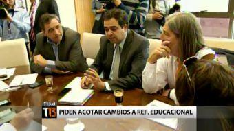 [T13] Parlamentarios oficialistas de comisión de educación se reunieron sin Ignacio Walker