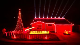 [VIDEO] Fanático de Star Wars llevó su pasión a luces navideñas