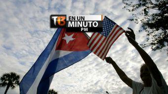 [VIDEO] #T13enunminuto: EE.UU. y Cuba inician normalización de relaciones y más noticias