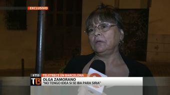 """[T13] Tía de chilena detenida en España: """"Ella no me contaba nada"""""""