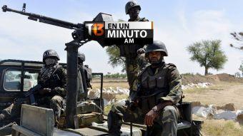 [VIDEO] #T13enunminuto: 116 miembros de Boko Haram ejecutados en Camerún y más noticias