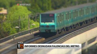Metro bajo la lupa: Los riesgos que amenazan al tren subterráneo