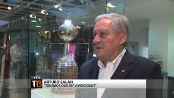 """[T13] Arturo Salah: """"Colo Colo es el mejor equipo del año"""""""