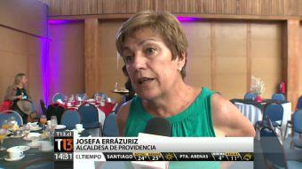 Josefa Errázuriz asegura que cualquier vecino puede ocupar el Palacio Falabella
