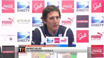 [T13] El camino de Mario Salas para llegar a la banca de la UC