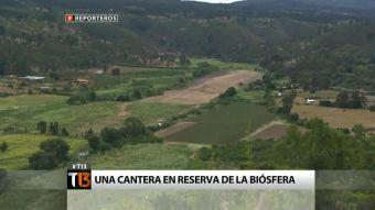 [Reporteros] Laguna Verde: Una cantera en reserva de la biósfera
