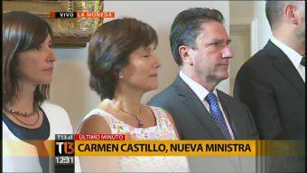 [VIDEO] Revisa la designación de Carmen Castillo como nueva ministra de Salud