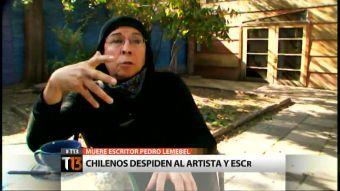 [T13] 1952-2015: El adiós de Pedro Lemebel y la entrevista que dio a Canal 13