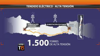 [T13] Valle del Elqui: polémica por instalación de torre eléctrica