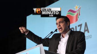 [VIDEO] #T13enunminuto: partido de izquierda radical Syriza se impone en elecciones de Grecia