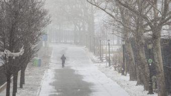 [VIDEO] Así se vive la llegada de la histórica tormenta de nieve en Nueva York
