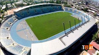 Copa América: Drone muestra cómo quedó el nuevo estadio El Teniente