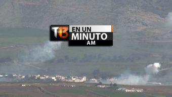 [VIDEO] #T13enunminuto: Israel bombardea frontera en el sur del Líbano y otras noticias