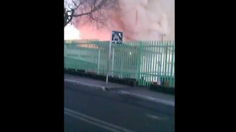 [VIDEO] Captan momento exacto de la explosión en hospital en México