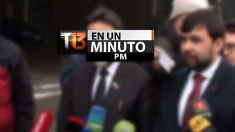 [VIDEO] #T13enunminuto: Kiev y separatistas pro rusos suspenden conversaciones y más noticias