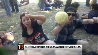 Vecinos de Quinta Normal en guerra contra las fiestas auto convocadas