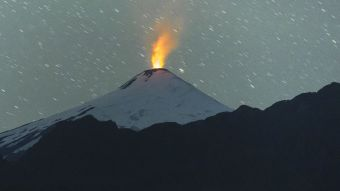 Sernageomin reporta aumento de la actividad del volcán Villarrica