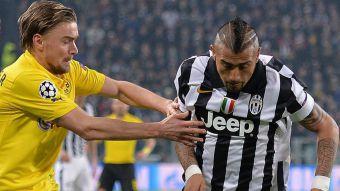 Juventus de Vidal se impone ante Borussia Dortmund por Champions