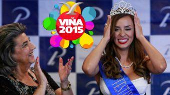 [VIDEO] Así fue la coronación de Jhendelyn Núñez, la reina de Viña 2015