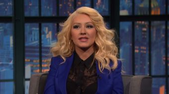 [VIDEO] Christina Aguilera sorprende otra vez: Ahora imitó a personaje de \